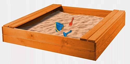 AVANTI TRENDSTORE - Sand - Sabbiera in Legno Massiccio. Dimensioni Lap 116,6x17x120 cm