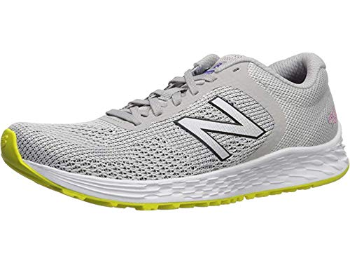 New Balance Women's Fresh Foam Arishi V2 Running Shoe, Light Aluminum/Peony, 5.5 W US