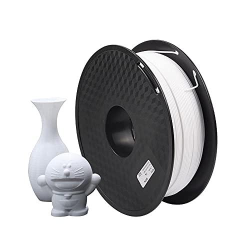 HANHAI PETG Filament 1.75mm, 3D Printer Filament - 1kg Spool, Dimensional Accuracy of +/- 0.02mm,210-240℃,White