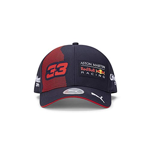 Red Bull Racing F1 2020 Team Max Verstappen Baseball Hat Navy