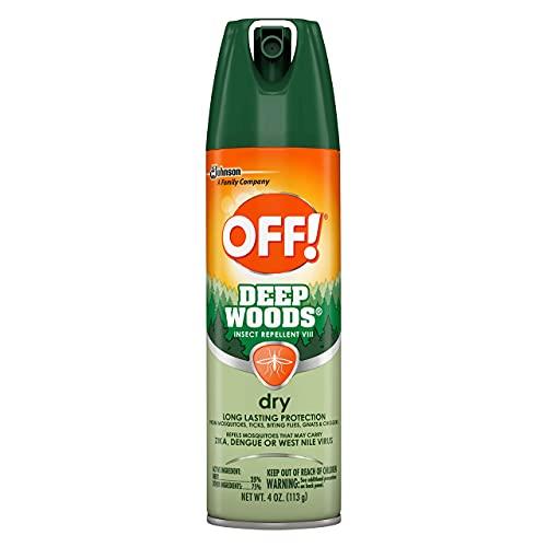 Off!Repelente de insectos Deep Woods seco VIII, 113 g
