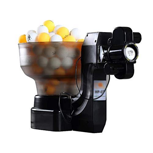 HYDDG Automatischer Tischtennisroboter 36 Spins Ping-Pong-Ball-Pitching-Maschine Heimtraining Training Ballwerfer mit kabelgebundener Fernbedienung URG