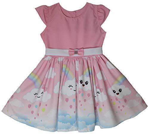 Vestido Infantil menina de festa chuva de amor Katitus (2)