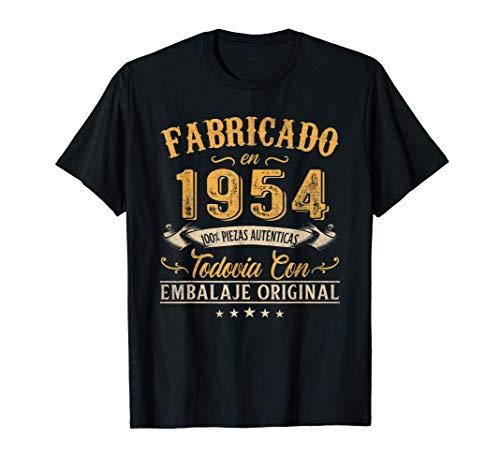 Fabricado En 1954 Regalo Para Hombre 66 Años Cumpleaños Camiseta