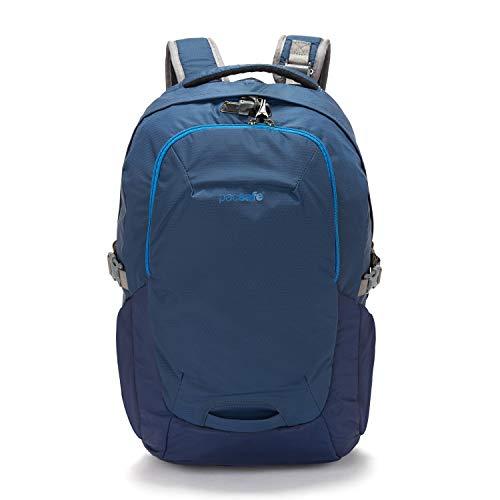 Pacsafe Venturesafe G3 25 Liter Rucksack, Anti-Diebstahl Technik, 100D Nylon Diamond Ripstop, Daypack, Wanderrucksack, Reisegepäck mit Sicherheitstechnologie, 25 Liter, Blau/Lakeside Blue)