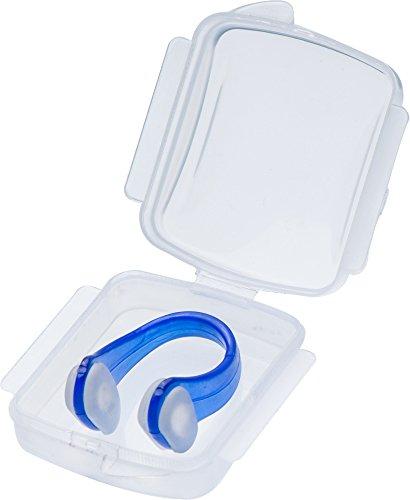 Cressi Premium Accessori per Nuoto e Piscina Clip Stringinaso, Unisex – Adulto, Blu