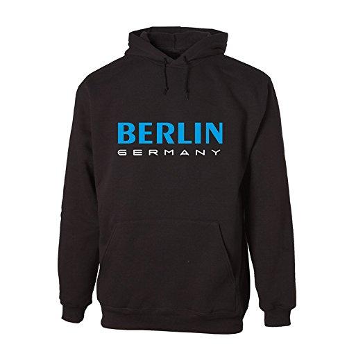 G-graphics Berlin Germany Lightweight Hooded Sweat (078.357) (XL)