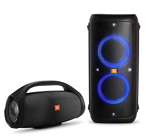 Amazing Deal JBL PartyBox 300 Premium High Power Portable Wireless Bluetooth Audio System Bundle wit...