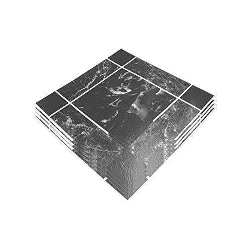 Anti Slip cocina juego de 4 Adhesive Floor Tiles autoadhesivos Tejas pelar y pegar mármol carga acabado efecto calidad profesional