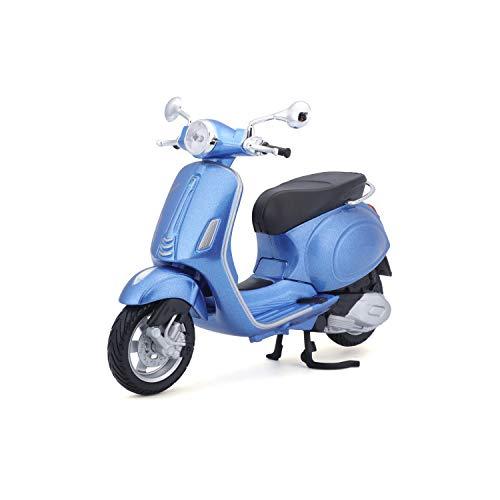 Maisto M32721 1:12 Motorbike Vespa Scooter Primavera 150 (2014), Blue