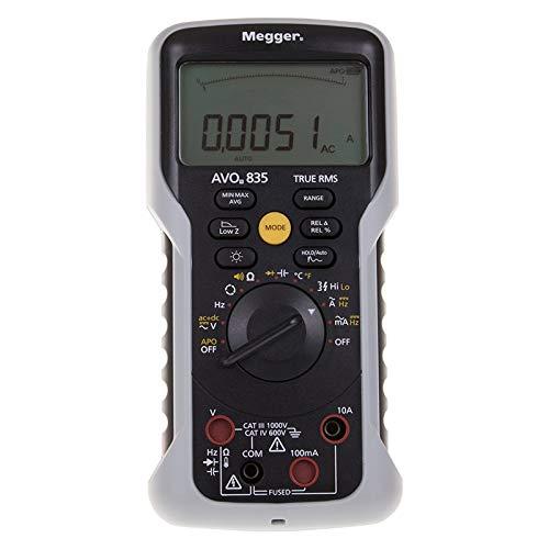 Megger AVO835 - Multímetro digital TRMS para 2018