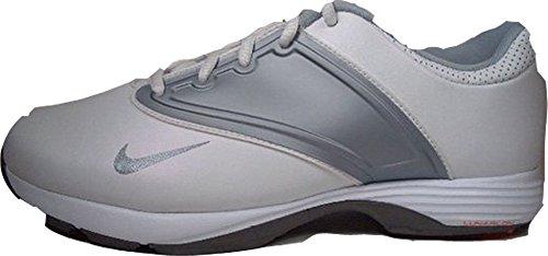 Nike, Scarpe da Golf Donna Bianco Bianco/Argento 38