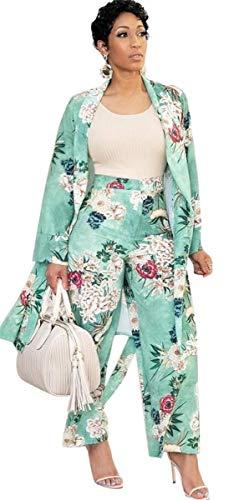 Brede broeken voor dames, festivals, 2 cardigan fashion lente, herfst, lange bloemenprint, high waist brede legbroek, elegant, cocktailparty, club, trendy joggingpak.