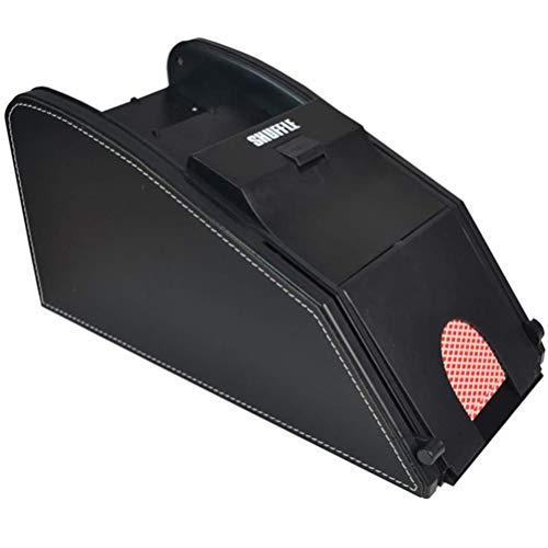 Asolym Professioneller Automatischer 2-in-1-Kartenmischer, Batteriebetriebene Kartenmischmaschine, ideal für zu Hause, Turniernutzung für Klassisches Poker, Sammelkartenspiele, Blackjack