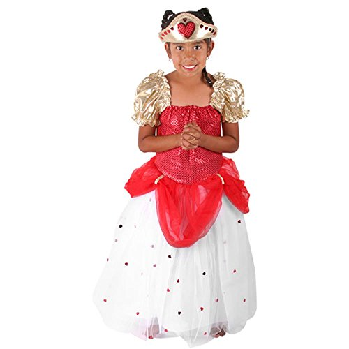 Child's Queen of Hearts Costume (Size: 2T-4T)