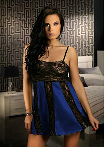 Ropa de dormir para mujer Conjuntos de lencería para mujer Women's adult sexy temptation plus size see-through strap home nightdress sexy lingerie multicolor optional-rose red_one size