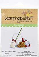 Stamping Bella Cling Stamps-Milk & Cookies Gnome
