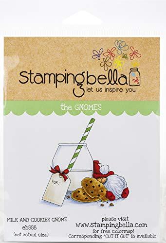 STAMPING BELLA Stamp Milk COOKI, Milk & Cookies Gnome