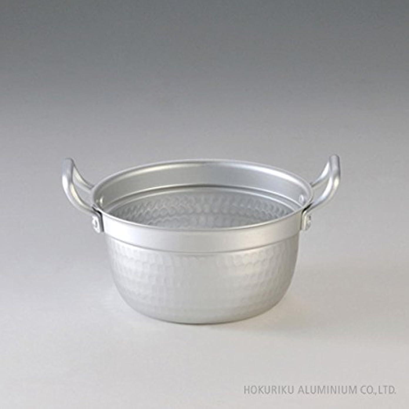 アンテナ酒ファイアル北陸アルミ 段付鍋 萬彩伝 15.5cm