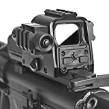 SavageHunter Tactical 552G Holographic Red Green Dot Sight Rifle Scope with Laser Sight 20mm Rail Mounts