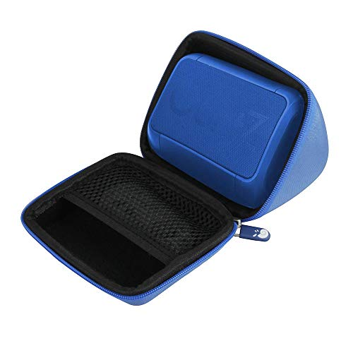 Hermitshell Hard Travel Case for OontZ Angle Solo Bluetooth Portable Speaker (Blue)