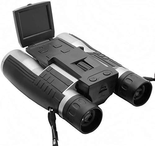 SERBHN Luz Nocturna 12Mp HD Grabadora De Video Digital 1080P Binoculares De Grabadora De Video 96 / 1000M Visualización Remota para Observar, Cazar Y Espionaje-Default
