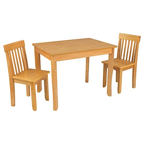 KidKraft Avalon Table II & Chairs Set, Natural