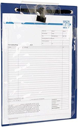 SW-Stahl 07312L Werkstattauftrags-Mappe DIN A 4, blau