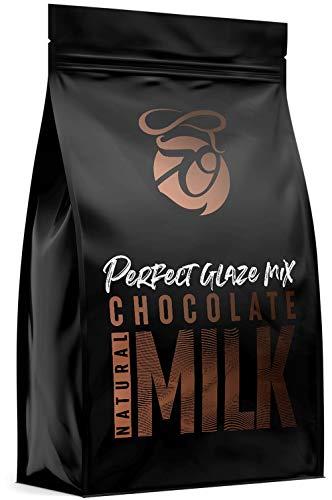 CAKEZO PERFECT GLAZE, Chocolate mix MILK, Mirror Glaze Torten-Spiegelglasur mit hochwertiger Schokolade 300g