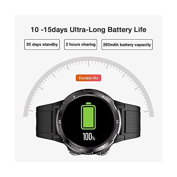 UMIDIGI Uwatch GT Smartwatch Hombre Reloj Inteligente 5ATM Impermeable con Cronómetro Pulsera Actividad de Fitness con… 6