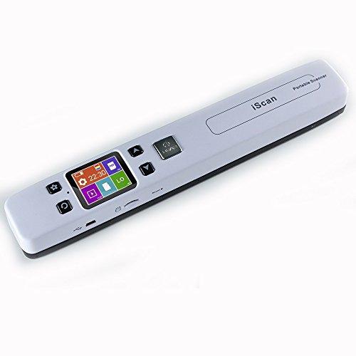 Mini Escáner portátil Escáner de Documentos de Alta Velocidad Escáner Pen 1050 dpi