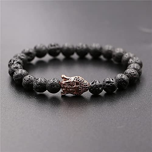 Kejing Handmade Beaded Energy Stone Volcanic Max 52% OFF New product Microstruck Zircon