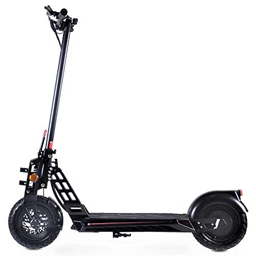 EPICSTUFF UK STREET-X 800W 48V POWERED LITHIUM ADULT Scooter eléctrico plegable (negro)