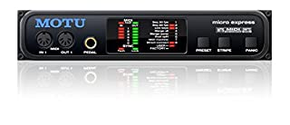 Motu Micro Express 4x6 USB MIDI Interface (B002BKH02S) | Amazon price tracker / tracking, Amazon price history charts, Amazon price watches, Amazon price drop alerts