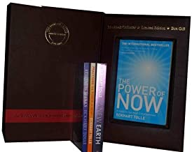 Eckhart Tolle Collection Set: Power of Now, a New Earth, Practising the Power of Now