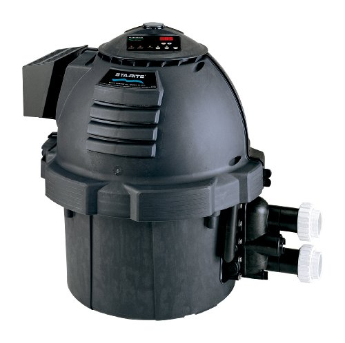 Best Buy! Sta-Rite SR200HD Max-E-Therm Black Heavy Duty Pool and Spa Heater, 200-BTU