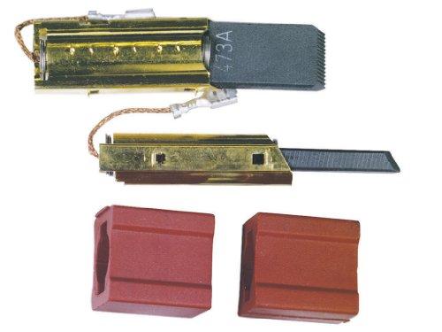 1x par de escobillas de carbón para lavadora motor con soporte apropiadas para Miele 4297411 4297410