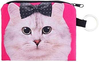 【ディアーアニマルズ】 猫 コインケース ねこ小物入れ 白猫 小銭入れ