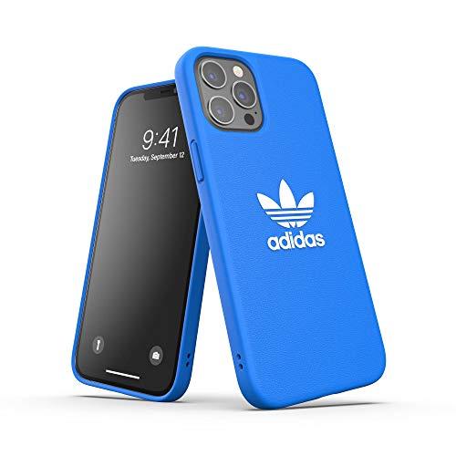 adidas Funda diseñada para iPhone 12 Pro MAX 6.7, Fundas a Prueba de caídas, Bordes elevados, Funda Original, Color Azul