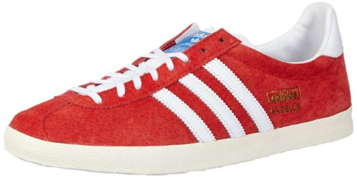 adidas Originals Unisex-Erwachsene Gazelle OG Low-Top, Rot (University Red/Chalk/White), 43 1/3 EU