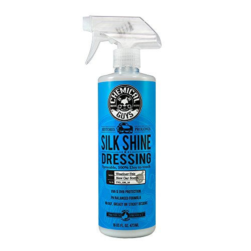 Chemical Guys TVD_109_16 - Silk Shine Spray-able Dry-To-The-Touch Dressing For Tires, Trim, Vinyl, Plastic and More (16 fl. Oz (Single Unit))