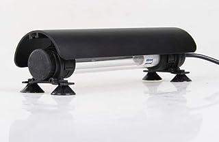 Uv Sterilizer Light, Uv Bulb Aquarium Sterilizer Submersible Waterproof Algae Killing Lamp with Shade and Timer for Aquari...