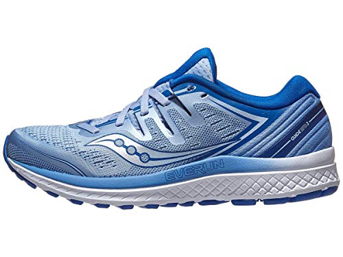 Saucony Women's Guide ISO 2 Running Shoe, Blue, 5 M US