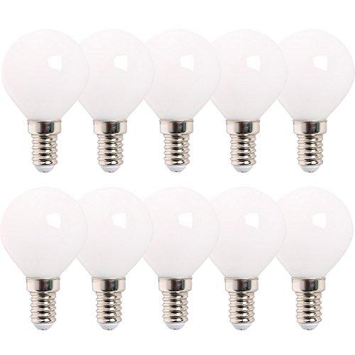 10 x LED-lampen druppels 2,8 W = 25 W E14 opaal mat 250 lm warm wit 2700 K 360 °