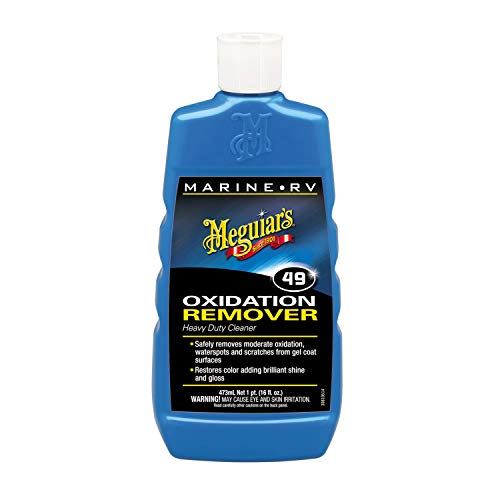 Meguiar's M4916 Marine/RV Heavy Duty Oxidation Remover, 16 Fluid Ounces