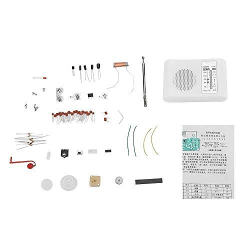 FM Radio Kit, CF210SP Am/FM de Banda Dual de Radio DIY Kit Electrónico ensamblamiento