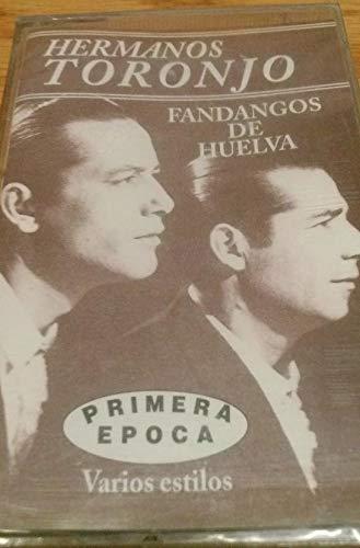CASETE HERMANOS TORONJO -FANDANGOS DE HUELVA-NUEVO Y PRECINTADO -ÉXITOS IMPRESCINDIBLES-NO DISPONIBLE EN TIENDAS-DESCATALOGADO