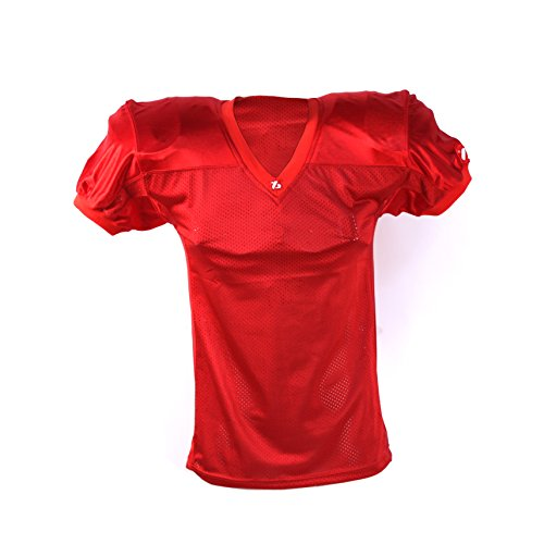 BARNETT FJ-2 Maillot de Football américain us Match Rouge M