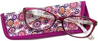 Foster Grant eyesential Women's Gwennie Reading Glasses, Pink (+1.50)