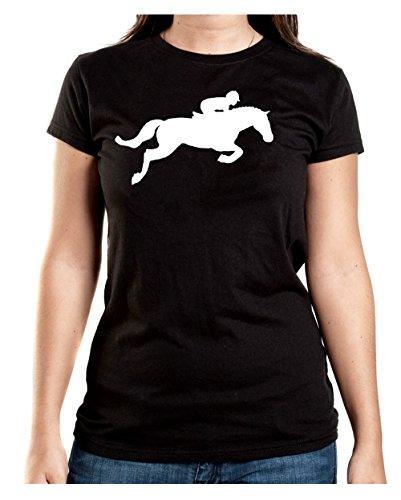 Certified Freak Horse Jumper T-Shirt Girls Black XL
